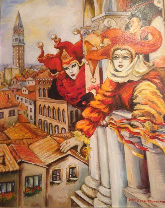 Venezian Carnivale - Sona Manoukian Art