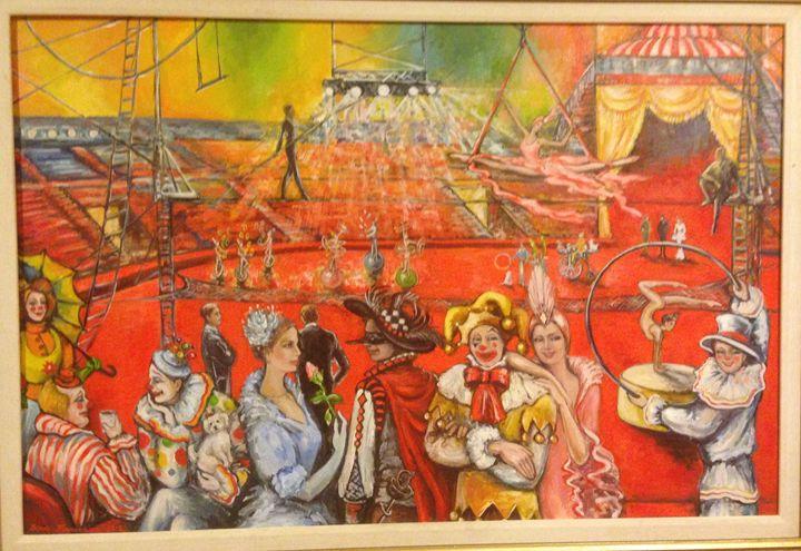 At the Circus - Sona Manoukian Art