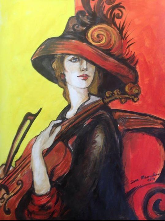 Violinist - Sona Manoukian Art