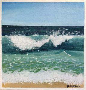 Beach View_Sea Waves