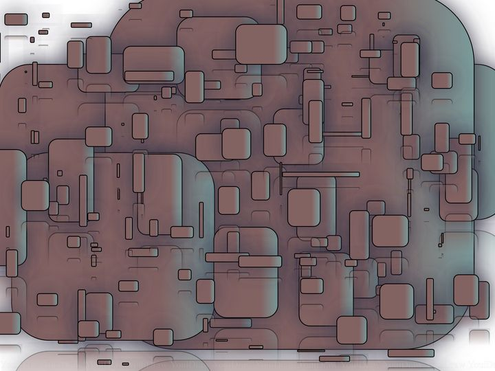 The depth of rectangles - Depths art