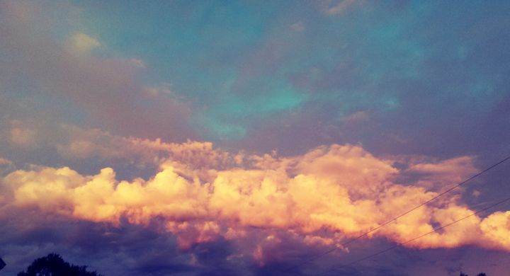 Sunset Clouds - Hazel Wonder
