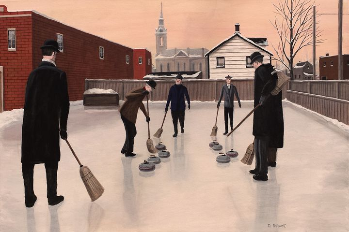 The Curlers - Dave Rheaume Artist