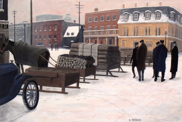 The Wood Market - Dave Rheaume Artist