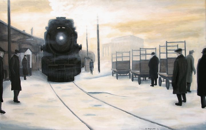 Arriving at Union - Dave Rheaume Artist