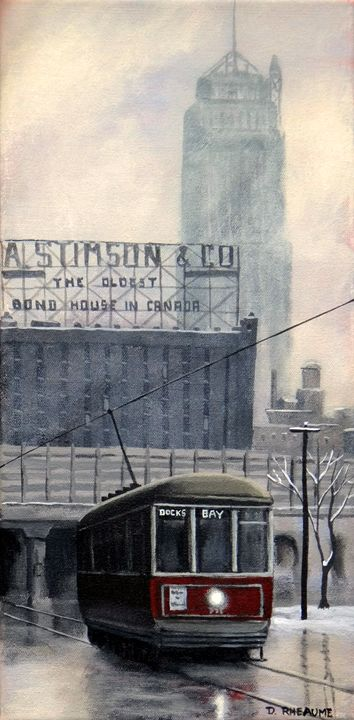 Bay Car to the Docks - Dave Rheaume Artist