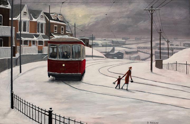 Lansdowne Avenue - Dave Rheaume Artist