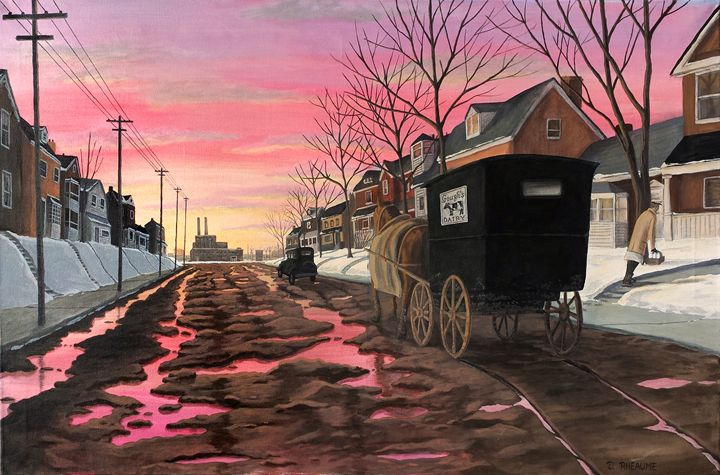 The Dairy Man - Dave Rheaume Artist