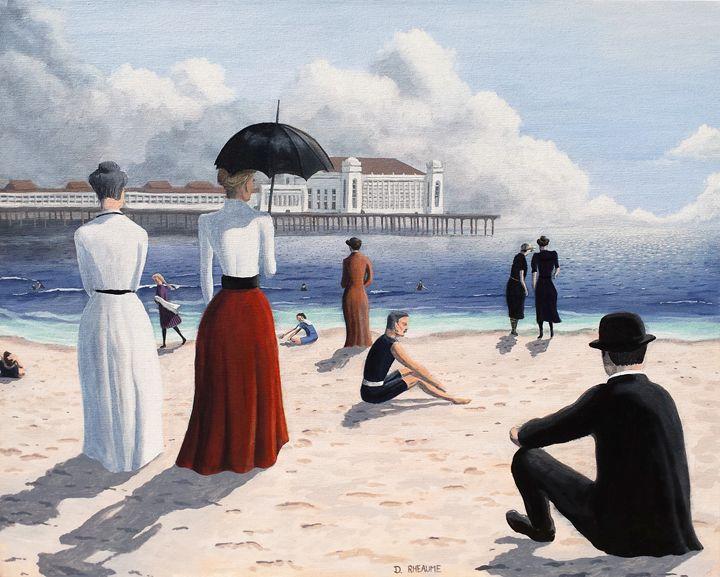 Atlantic City Beach - Dave Rheaume Artist
