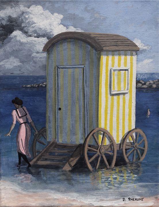 The Bathing Machine - Dave Rheaume Artist