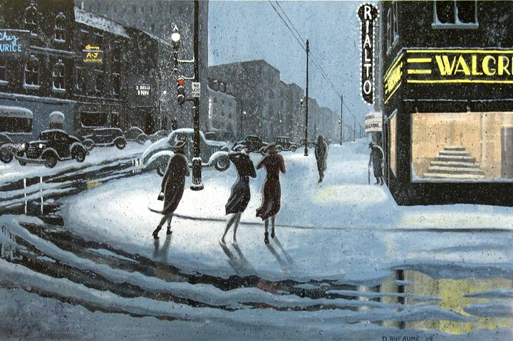 Caught by the Storm - Dave Rheaume Artist