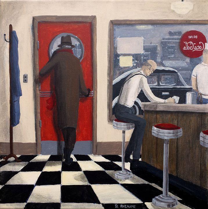 Diner - Dave Rheaume Artist