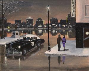 The Night Patrol - Dave Rheaume Artist