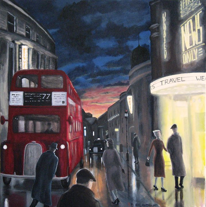 Piccadilly - Dave Rheaume Artist