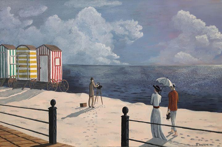 Beachside Stroll - Dave Rheaume Artist