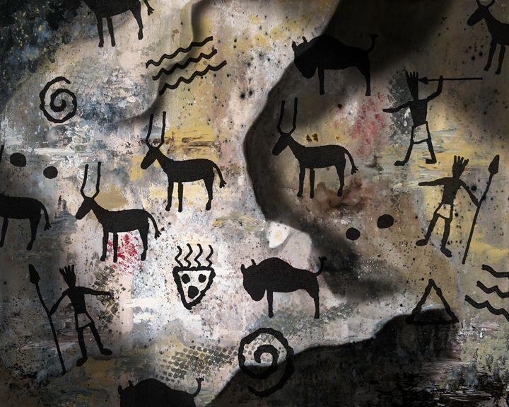 Cave Wall - Dave Rheaume Artist