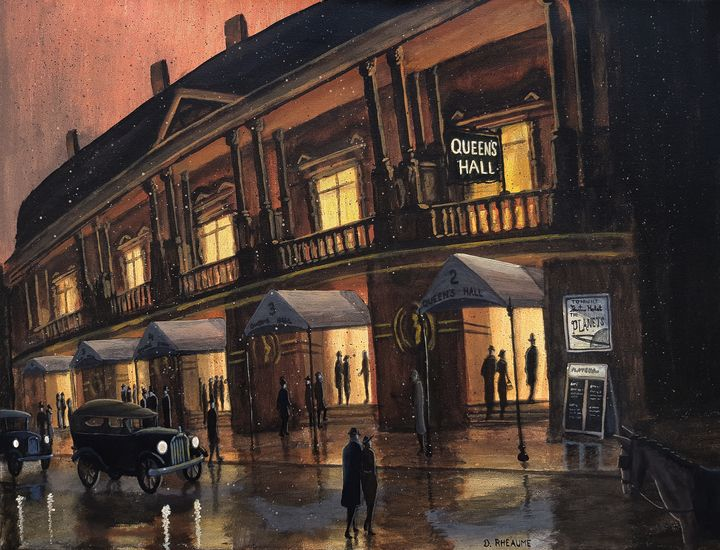 The Planets Debuts at Queen's Hall - Dave Rheaume Artist