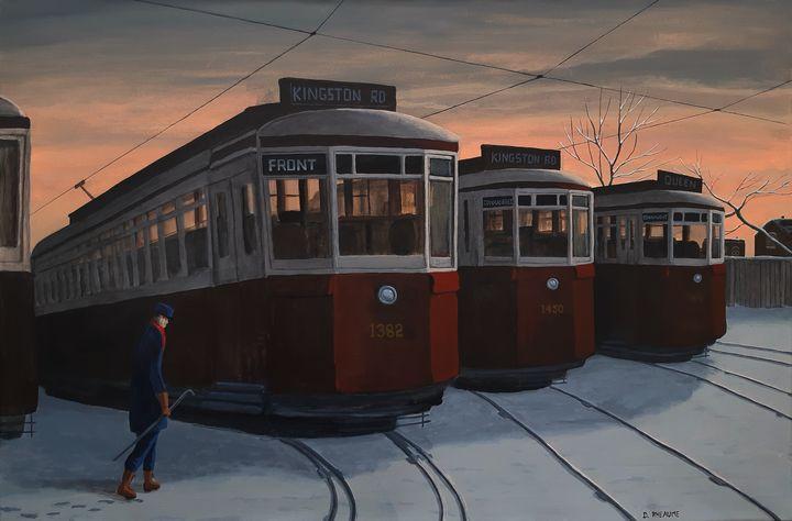 The Streetcar Yards - Dave Rheaume Artist