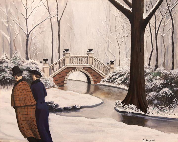 Le Parc Monceau - Dave Rheaume Artist