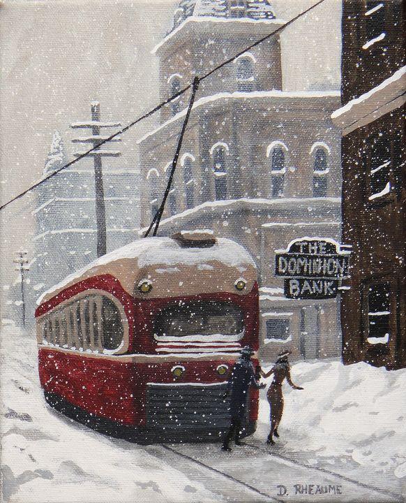 Queen Car Afternoon - Dave Rheaume Artist