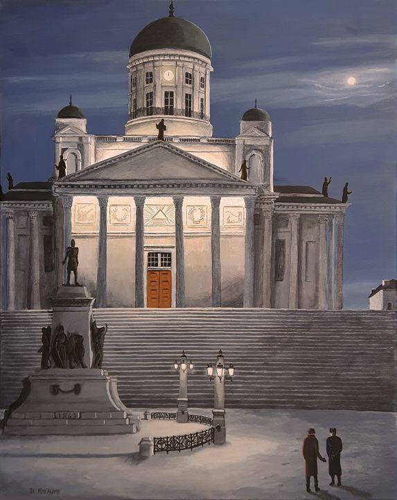 Midnight in Helsinki - Dave Rheaume Artist