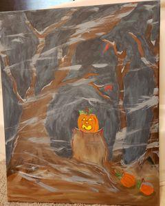 Dusk Halloween
