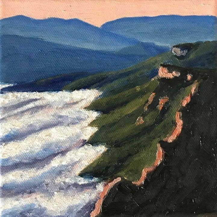 Grampians mini painting - BenMirco