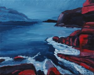 Tasmanian cliffs