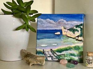 Point D'Entrecasteaux mini painting