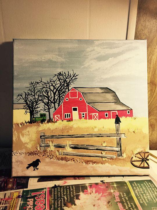 On the Farm - Amanda's Art
