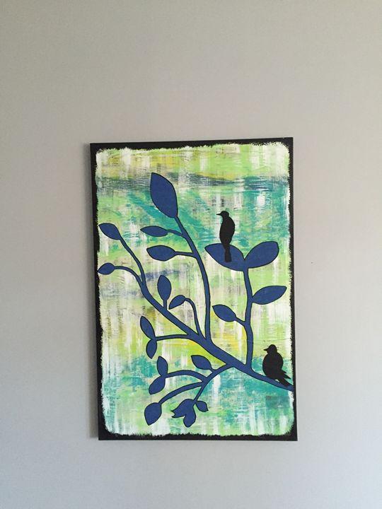 Blackbirds - Amanda's Art