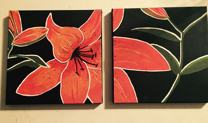 Tiger Lily - Amanda's Art