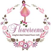 Flowereena : Anagha's pressed flower art