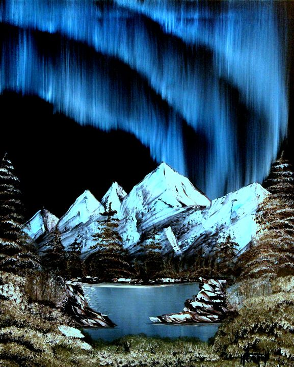 Mountain Lights - Raven's Claw Fine Art