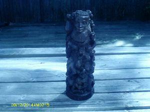 estate ebony sculpture