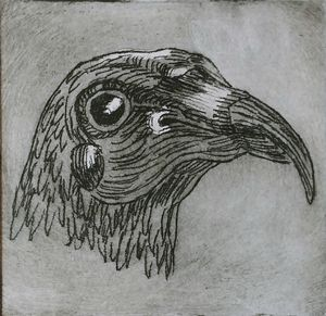 Ritratto dell'uccello no. 1