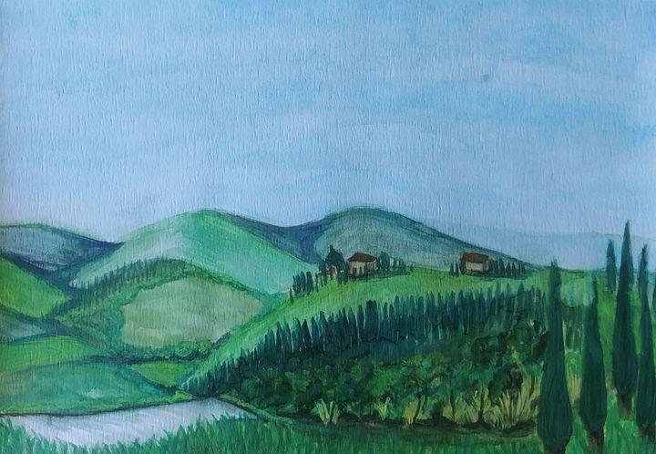 Tuscan countryside - Rachel Dziga