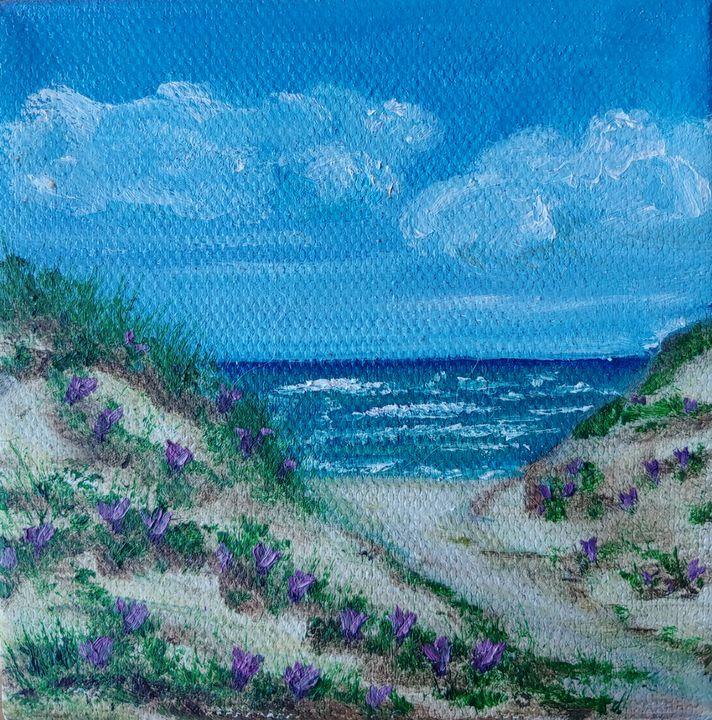 Dunes in Bloom - Rachel Dziga