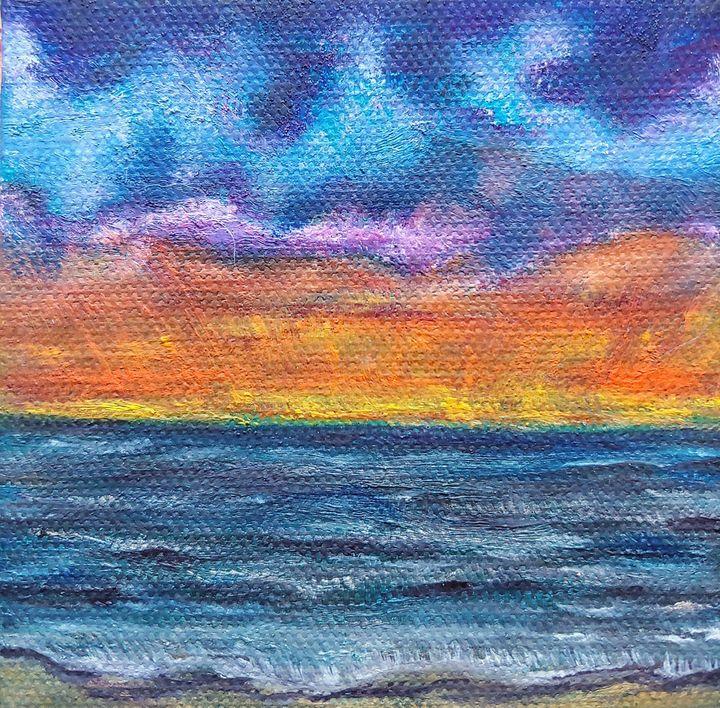 Sunrise before the Storm - Rachel Dziga