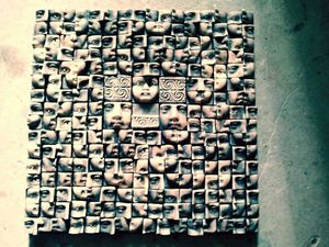 Puzzle 40 x 40 white