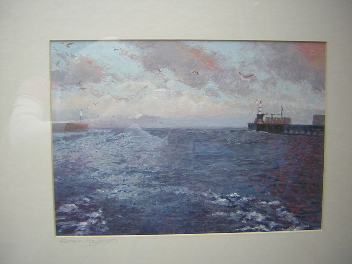 'Amble Harbour, Northumberland' - northumberland images