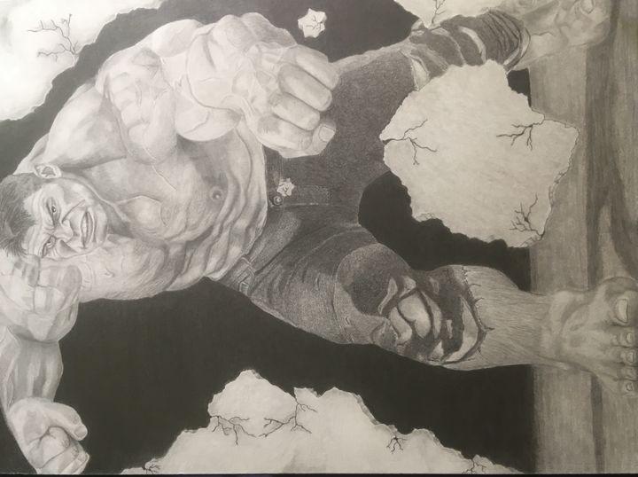 Incredible Hulk -  Chriscrockett09
