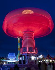 Red Mushroom - Dark Lite Foto
