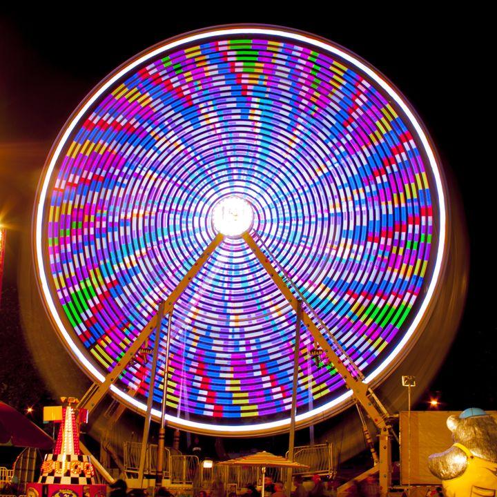 The Color Wheel - Dark Lite Foto