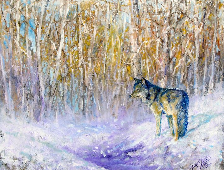 Winter Sun - Dave E. Iles Fine Art