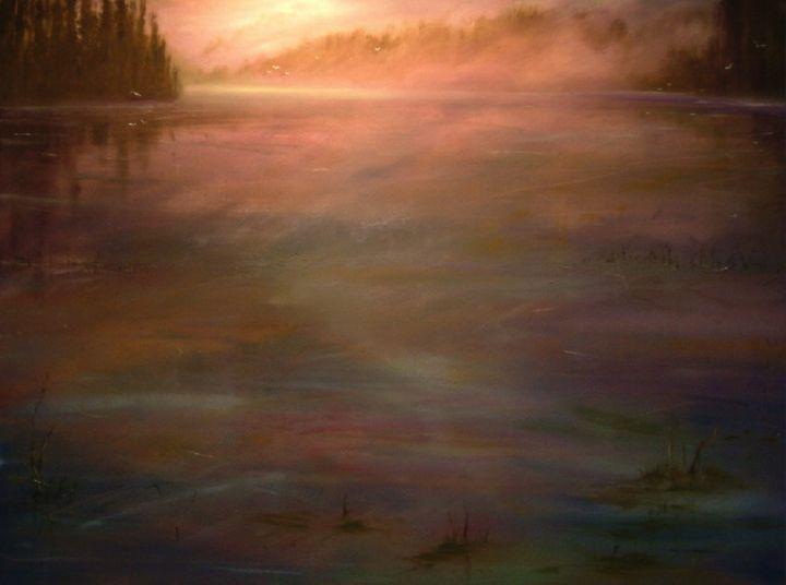 Puget Sound Near Gig Harbor, WA, USA - Dave E. Iles Fine Art