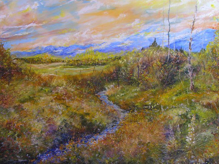 Wet Mountain Valley - Dave E. Iles Fine Art