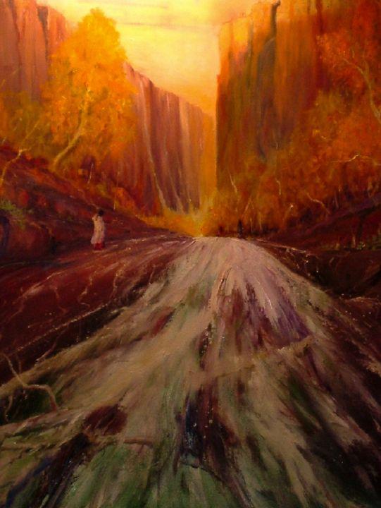 Cliff Dwellers - Dave E. Iles Fine Art