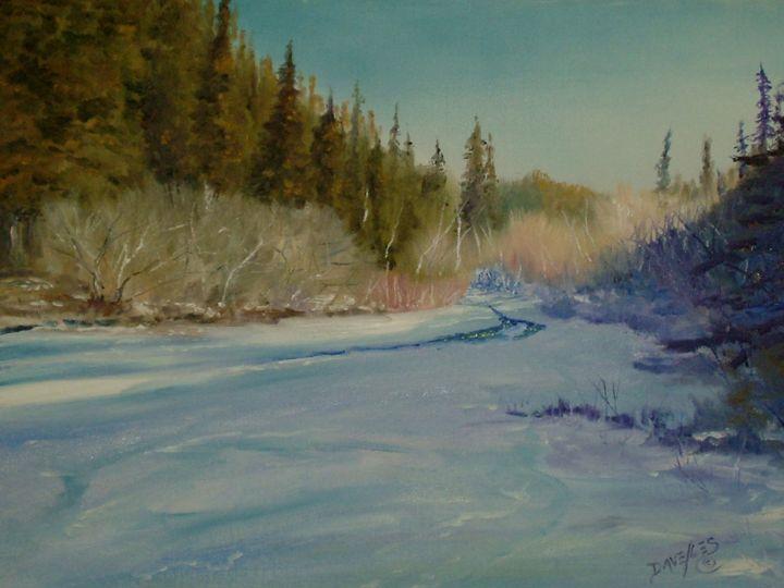 Tarryall Creek, Colorado USA - Dave E. Iles Fine Art