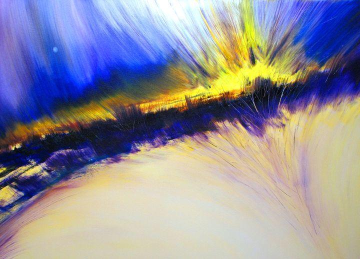 Spirit Moon - Dave E. Iles Fine Art